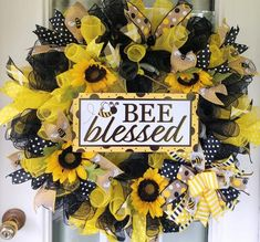 This item is unavailable Summer Door Wreaths, Holiday Wreaths, Wreaths For Front Door, Halloween Wreaths, Winter Wreaths, Spring Wreaths, Sunflower Burlap Wreaths, Floral Wreaths, Cotton Wreath