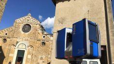 Siamo stati a Volterra dove per due settimane un team internazionale di ingegneri e architetti hanno sperimentato tecnologie come laser scanning, droni e image processing ad alto livello per ricostruire un modello Bim avanzatissimo della cittadina. Il nostro reportage