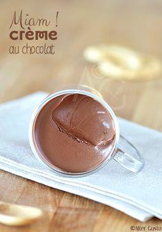 Alter Gusto | Petites crèmes au chocolat - Version rapide -