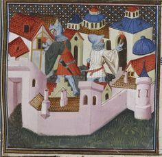 Grande Bible historiale complétée. Auteur : Maître du livre d'heures de Johannette Ravenelle. Enlumineur Date d'édition : 1395-1401 Type : manuscrit Langue : Latin