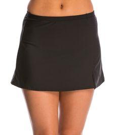 sz M Medium Black #153149 Athleta Kata Swim Skirt 2