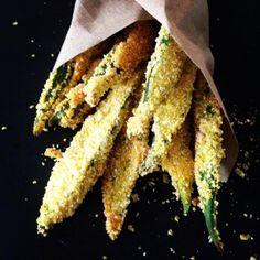 Baked Okra fries (wheat/gluten/dairy free, paleo, vegan)