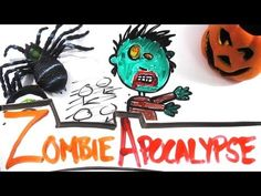 Zombie Apocalypse Science VIDEO - Real scientific answers and explanations with interesting pictures - great to attract & keep attention of young minds