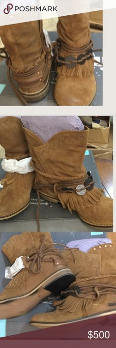 NEW  Coolway Boho Chic Leather  Boots Cue Size 5 NEW  Coolway Boho Chic Leather  Boots Cue Size 5 coolway Shoes Ankle Boots & Booties
