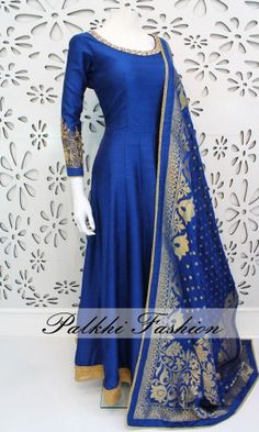 Shop for Anarkali & Gown designed by well known designers in India! Take breaths away at Mahendi, Sangeet & Wedding wearing these outfits by Palkhi Fashion.