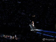 """Taylor Swift performs her 1989 tour in Seattle - hovering above the crowd, she sings """"Mean."""" I WAS IN THAT CROWD! Swift Tour, 1989 Tour, Career Path, Day Of My Life, Taylor Swift, My Idol, Tours, Concert, World"""