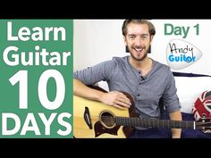 Guitar Lesson 1 - Absolute Beginner? Start Here! [Free 10 Day Starter Course] - YouTube