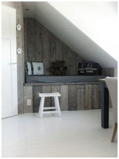 ... boven trappengat nursery slaapkamer jongen bedstee boven bedstee onder