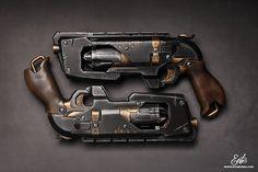 Ethis Crea: Nerf Hammershot diesel / Steampunk custom