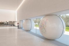 "Image 1 of 17 from gallery of AI-Architects' Competition-Winning Moscow Metro Station Design Utilizes ""Friendly"" Rounded Forms. Courtesy of AI-architects"