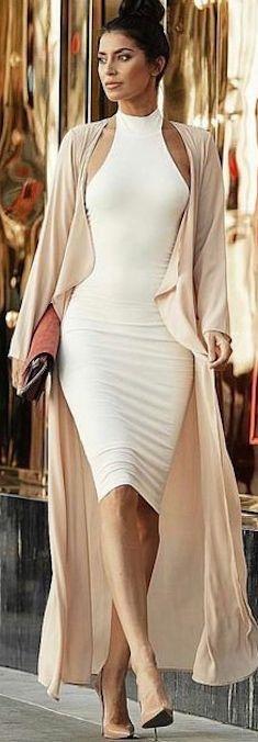 elegant neck holder stretch dress