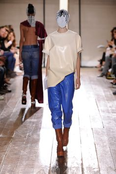 Margiela rubber outfit