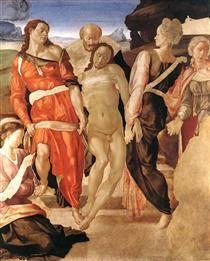 The Entombment - Michelangelo