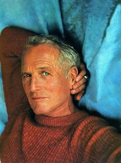 Paul Newman -- I've never seen a bad photo of this man! Even as he got older.