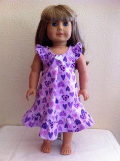 New 388 Doll Nightgown Pattern Free Doll Pattern
