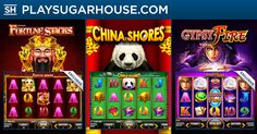 Announcing #Konami's newest slot releases! Test your fortune on Fortunes Stacks, explore the China Shores, and seek your Gypsy Fire NOW! The top 3 players TODAY with the most spins on Gypsy Fire and Fortune Stacks will get $10 in Bonus Money each! #MoreGames #MoreFun #MoreRewards  #newjersey #onlinecasino #newreleases #playsugarhouse #slots #holidaycalendar #bonuses #rewards