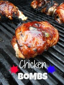 Ally's Sweet and Savory Eats: Chicken Bombs {+Giveaway!}