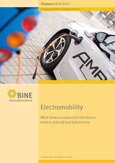 "Making progress with electricity  In the car industry, combustion engines are no longer the yardstick against which all values are measured. Electric drives have begun to become established on the market. The info brochure, ""Electromobility"" presents current research results on technology and economic efficiency. Here, the focus is on #battery and fuel cell #technology, the materials used and the impact of increasing #electromobility on the power grid.  #powergrid #energy #fuelcell #car…"