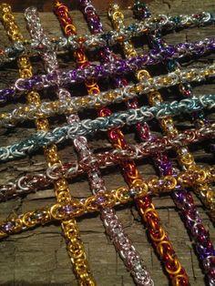 Chainmail Byzantijnse armband