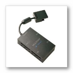 PlayStation 2 Multitap Allows upto 5 players at once. Ideal for games that have player options, such as Pro Evo Soccer. Supports up to 4 memory cards at once. Compatible with models SCPH 70000 and 90001 Playstation Games, Xbox, Videogames, Usb Flash Drive, Product Launch, Games Consoles, Image Link, Models, Amazon