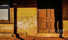 Doors of the World Series by Lexa Harpell. Door of a Forgotten rural building of Gulgong, New South Wales.
