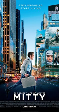 The Secret Life of Walter Mitty (2013) Life is about courage and going into the unknown.