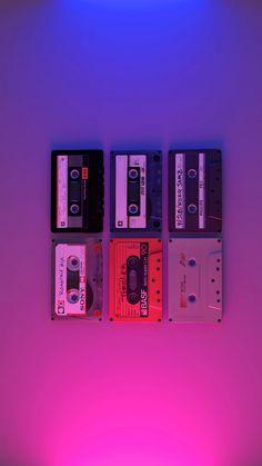 Retro Wallpaper Discover The Collection. Neon Wallpaper, Aesthetic Pastel Wallpaper, Screen Wallpaper, Aesthetic Wallpapers, Bedroom Wall Collage, Photo Wall Collage, Picture Wall, Purple Aesthetic, Retro Aesthetic
