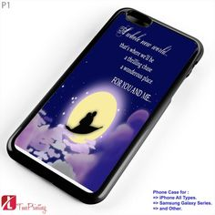 Disney Aladdin Quotes - Personalized iPhone 7 Case, iPhone 6/6S Plus, 5 5S SE, 7S Plus, Samsung Galaxy S5 S6 S7 S8 Case, and Other