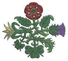 New Travel Tattoo Foot Symbols Ideas - -You can find Symbols and more on our website.New Travel Tattoo Foot Symbols Ideas - - Scottish Thistle Tattoo, Scottish Tattoos, Tudor Rose Tattoos, England Tattoo, Shamrock Ireland, Daffodil Tattoo, Tulip Tattoo, Shamrock Tattoos, Flower Symbol