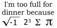 The Dumbest, Cleverest, Funniest Math Jokes & Puns is part of Science Puns Teachers - The dumbest smart jokes, the stupidest funny answers These are the best of the worst math puns and wisecracks! Pi Puns, Pi Jokes, Funny Math Jokes, Grammar Jokes, Math Puns, Lame Jokes, Science Puns, Math Memes, Nerd Jokes
