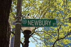 Newbury Street: Eight blocks leading to the Public Gardens filled with people sitting in outdoor cafes, locals walking dogs, and shopping from H & M and Urban Outfitters to Michael Kors and Valentino. Newbury Street is a staple in Back Bay.