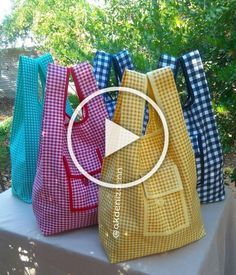 Diy Crafts Videos, Diy Crafts To Sell, Home Crafts, Easy Crafts, Learn Woodworking, Woodworking Crafts, Yarn Tail, Fabric Bags, Fabric Crafts