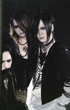the GazettE, Ruki, Uruha, Kai
