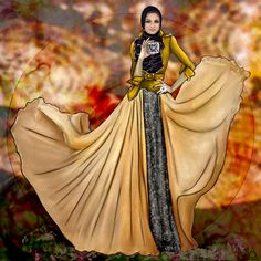 Loved creating this flawless illustration of check her out. Jacket and style inspired by Al-Bluwi Al-Bluwi All Fashion, Modest Fashion, Hijab Fashion, Fashion Art, Fashion Design, Fashion Illustration Poses, Fashion Illustrations, Fashion Sketches, Dress Sketches