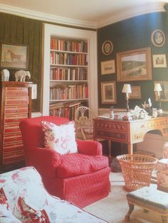 The Duchess of Devonshire Sitting Room