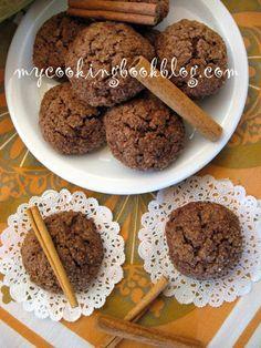Овесени бисквити с какао и тиква