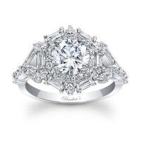 Halo Engagement Ring - 7906LW