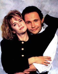 loved Billy Crystal with Meg Ryan. when Harry met Sally funny Harry And Sally, When Harry Met Sally, Movie Couples, Cute Couples, I Movie, Movie Stars, Famous Duos, Billy Crystal, Meg Ryan