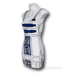 Star Wars Juniors R2D2 Costume Tank Dress