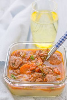 #Receta perfecta para comer en el trabajo: estofado de pavo con puré de patata