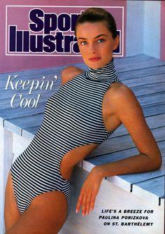 Paulina Porizkova Sports Illustrated Anniversary Issue