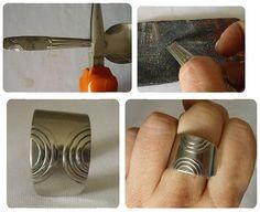 Un twist de estilo. Spoon ring  www.quenotecueste.blogspot.com