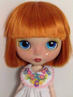 Dress  F L O W E R S   for Blythe dolls