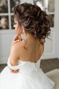 Featured Hairstyle: Elstile; www.elstile.ru; Wedding hairstyle idea. #weddinghairstyles