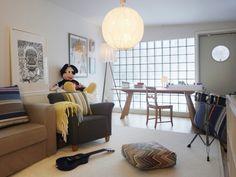 Un intérieur aménagé par l'architecte d'intérieur Myrica Bergqvist