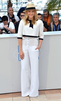 Chloë Grace Moretz in Chanel Couture and Chanel - At the Clouds of Sils Maria photocall, Cannes, France, May 2014