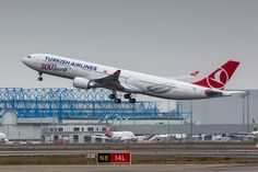 https://flic.kr/p/Dg5bHk | Turkish Airlines A330-303 | Bearing the title 300th Aircraft F-WWCV / TC-LNC / MSN 1696