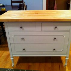 My DIY kitchen island!! It turned out great!!