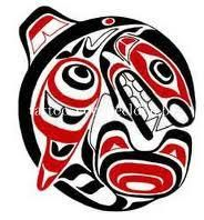 Haida tattoos meanings, history, symbology with Haida Tattoo graphics, images and picture tdeas. Native American Design, Native Design, Native American Indians, Quinceanera, Haida Tattoo, Dove Tattoos, Shark Tattoos, Haida Art, Tlingit