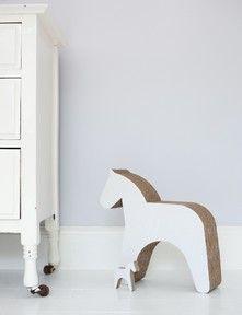Cardboard toy horse